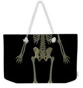 The Skeleton Weekender Tote Bag