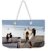 The Shoot On Santorini In Greece Weekender Tote Bag