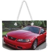 2001 Ford Mustang Cobra Weekender Tote Bag