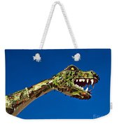 2015 Rose Parade Float Showing A Dragon 15rp040 Weekender Tote Bag