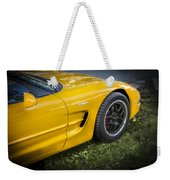 2002 Chevrolet Corvette Z06 Weekender Tote Bag