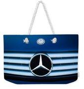 2003 Cl Mercedes Hood Ornament And Emblem Weekender Tote Bag