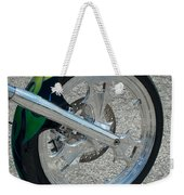 2004 Hell Bound Steel Motorcycle Weekender Tote Bag