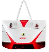 2005 Ferrari Fxx Evoluzione Hood Emblem Weekender Tote Bag