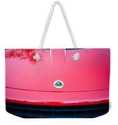 2006 Lotus Grille Emblem -0012c Weekender Tote Bag
