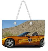 2007 Chevrolet Corvette Indy Pace Car Weekender Tote Bag by Jill Reger