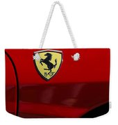 2007 Ferrari F430 Spider F1 Weekender Tote Bag