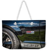 2007 Ford Mustang Shelby Gt500 Painted   Weekender Tote Bag