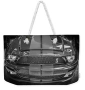 2007 Ford Shelby Gt 500 Mustang Bw Weekender Tote Bag