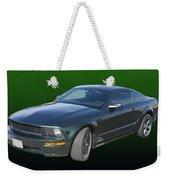 2008 Mustang Bullitt Weekender Tote Bag