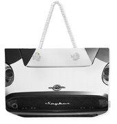 2009 Spyker C8 Laviolette Lm85 Grille Emblem Weekender Tote Bag
