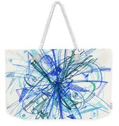 2010 Abstract Drawing 21 Weekender Tote Bag
