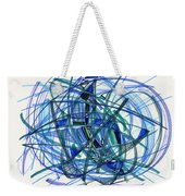 2010 Abstract Drawing 22 Weekender Tote Bag