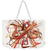 2010 Abstract Drawing 23 Weekender Tote Bag