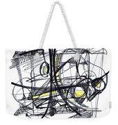 2010 Abstract Drawing 27 Weekender Tote Bag