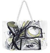 2010 Abstract Drawing 28 Weekender Tote Bag
