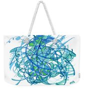 2010 Abstract Drawing 30 Weekender Tote Bag