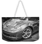 2010 Chevy Corvette Grand Sport Bw Weekender Tote Bag