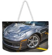 2010 Chevy Corvette Grand Sport Hdr Weekender Tote Bag
