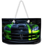 2010 Dodge Viper Acr Weekender Tote Bag