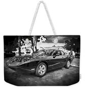 2010 Plymouth Superbird Bw Weekender Tote Bag