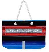 2011 Dodge Challenger Rt Hemi Taillight Emblem Weekender Tote Bag