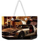 2011 Mercedes-benz Sls Amg Gullwing Weekender Tote Bag
