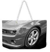 2012 Chevy Camaro Ss Bw Weekender Tote Bag