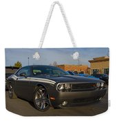 2012 Dodge Challenger R/t Classic Weekender Tote Bag