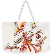 2012 Drawing #23 Weekender Tote Bag