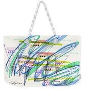 2012 Drawing #9 Weekender Tote Bag