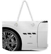 2012 Maserati Gran Turismo S B And W Weekender Tote Bag
