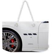 2012 Maserati Gran Turismo S Weekender Tote Bag
