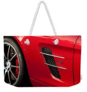 2012 Mercedes-benz Sls Gullwing Wheel Weekender Tote Bag
