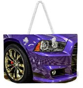 2013 Dodge Charger Headlight Weekender Tote Bag