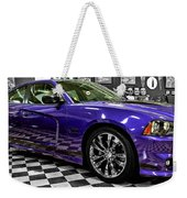 2013 Dodge Charger Weekender Tote Bag