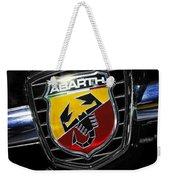 2013 Fiat 500 Abarth Weekender Tote Bag