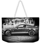 2013 Ford Mustang Shelby Gt 500 Bw Weekender Tote Bag