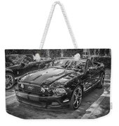 2013 Ford Shelby Mustang Gt 5.0 Convertible Bw  Weekender Tote Bag