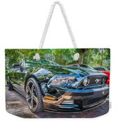 2013 Ford Shelby Mustang Gt 5.0 Convertible Painted   Weekender Tote Bag