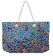 2014 20 Psalms 20 Hebrew Text Of In Blue And Other Colors On Gold  Weekender Tote Bag