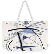 2014 Abstract Drawing #1 Weekender Tote Bag