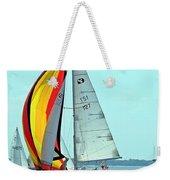Anemone And Defiant Weekender Tote Bag