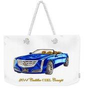 2014 Cadillac Ciel Concept Weekender Tote Bag