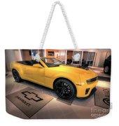 2014 Camaro Convertible Weekender Tote Bag