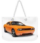 2014 Dodge Challenger Muscle Car Weekender Tote Bag