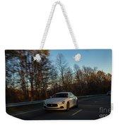 2014 Maserati Ghibli Sq4 Weekender Tote Bag