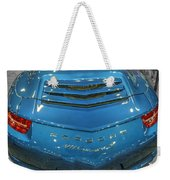 2014 Porsche 911 Carrera S Blue Weekender Tote Bag