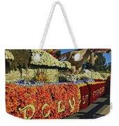 2015 Cal Poly Rose Parade Float 15rp052 Weekender Tote Bag