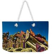 2015 Rose Parade Float With Butterflies 15rp044 Weekender Tote Bag